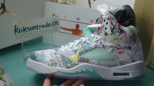 """Authentic Air Jordan 5 """"Wings"""""""
