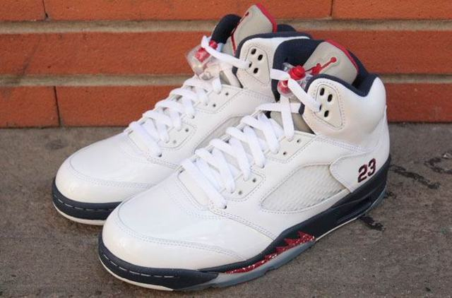 Authentic Air Jordan 5 Independence Day