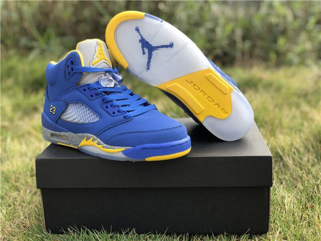 Authentic Air Jordan 5 Laney GS