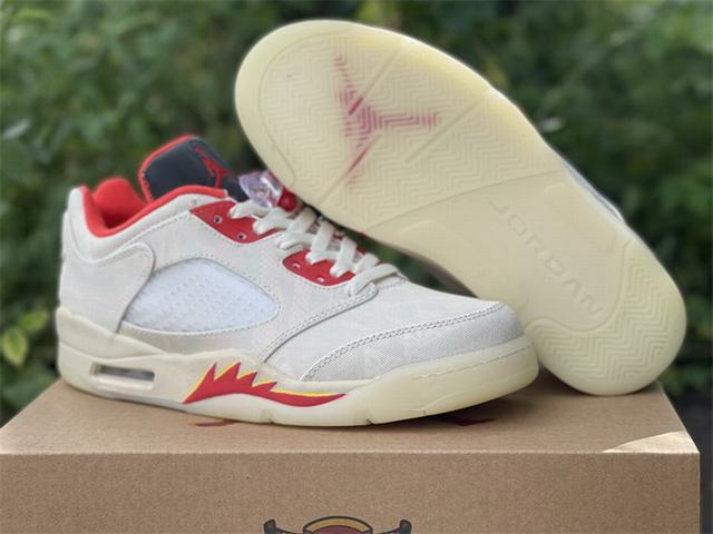 Authentic Air Jordan 5 Low Chinese New Year