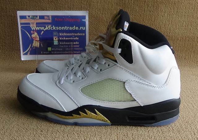 Authentic Air Jordan 5 Olympic