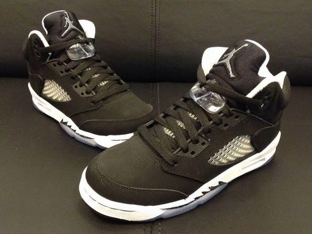 Authentic Air Jordan 5 Oreo GS