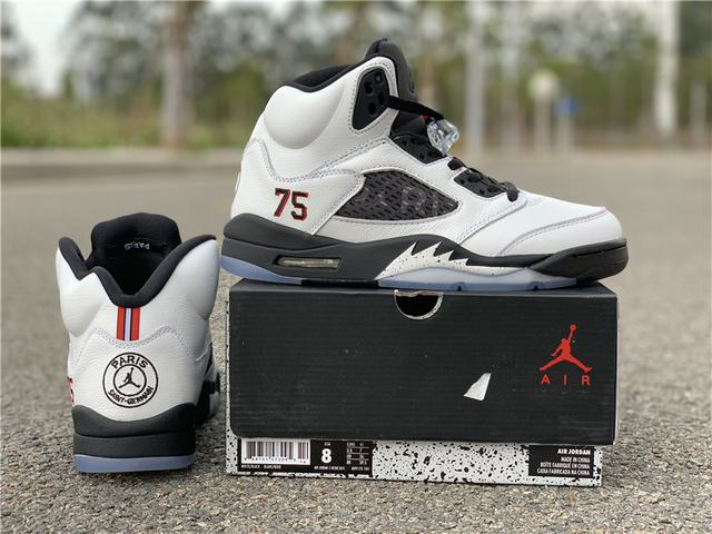 Authentic Air Jordan 5 Paris