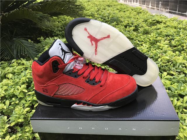 Authentic Air Jordan 5 Raging Bulls