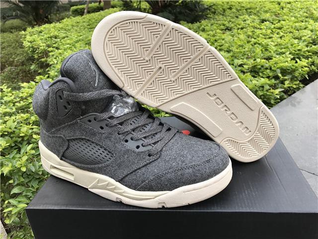 Authentic Air Jordan 5 Wool