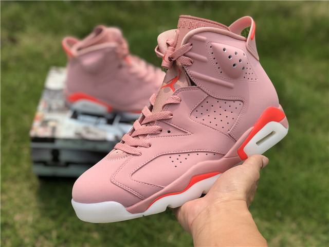 "Authentic Air Jordan 6 ""Aleali May"""