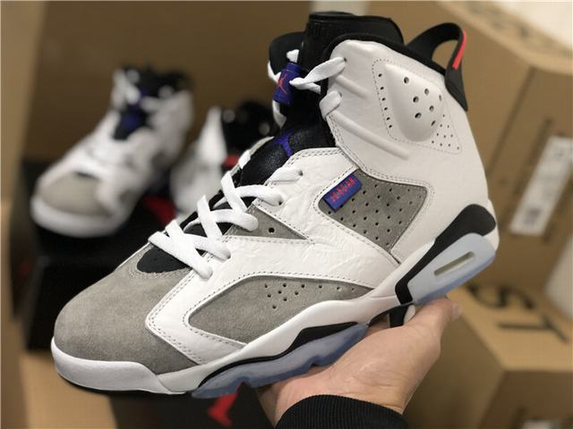 "Authentic Air Jordan 6 ""Flint"""