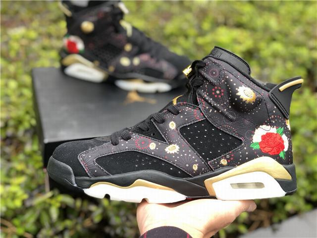 "Authentic Air Jordan 6 ""Chinese New Year"""