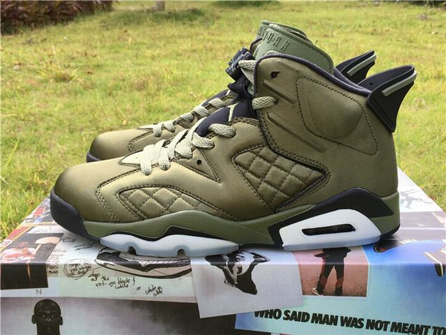 "Authentic Air Jordan 6 ""Flight Jacket"""