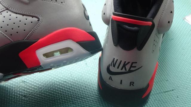 "Authentic Air Jordan 6 ""Reflective Bugs Bunny"""