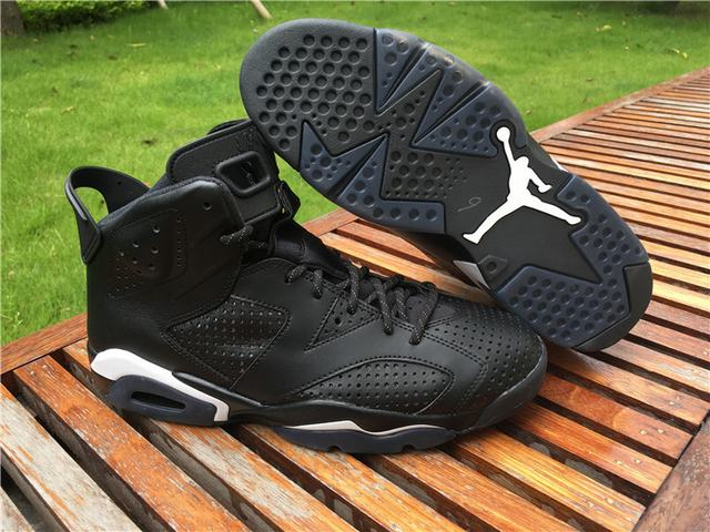 Authentic Air Jordan 6 Black Cat