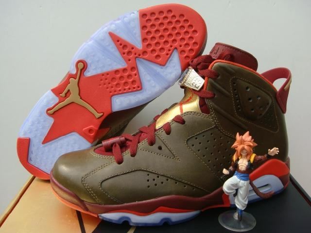 Authentic Air Jordan 6 Championship Cigar