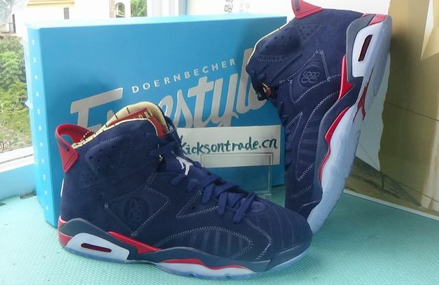 Authentic Air Jordan 6 Doernbecher 2019