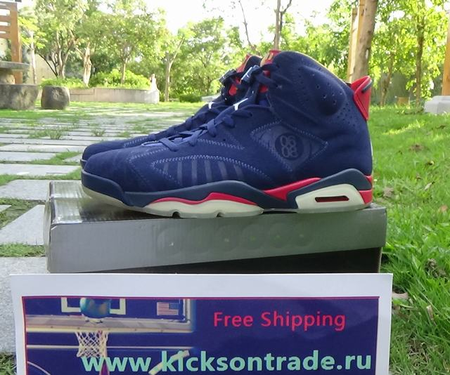 Authentic Air Jordan 6 Doernbecher