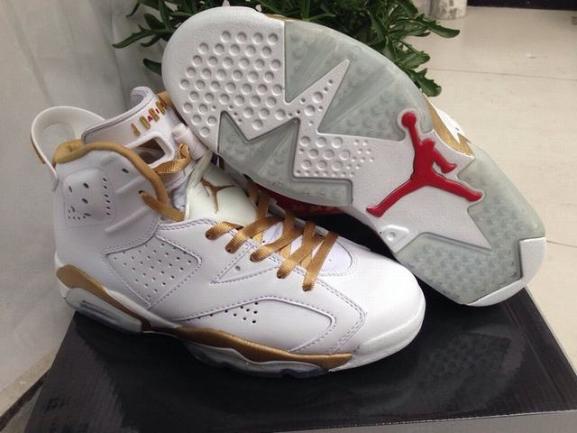 Authentic Air Jordan 6 Golden Moments Pack