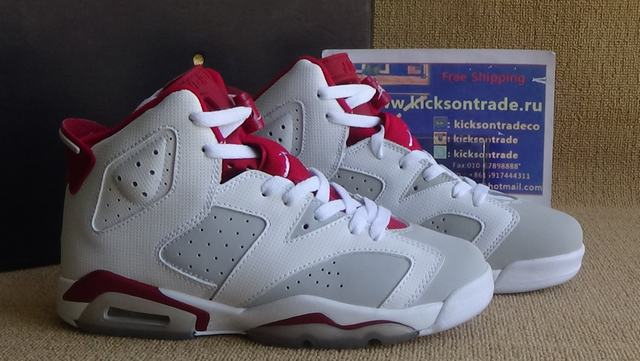 Authentic Air Jordan 6 Hare GS