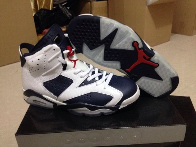 Authentic Air Jordan 6 Olympic