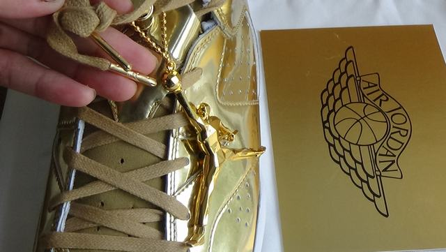 Authentic Air Jordan 6 Pinnacle Gold