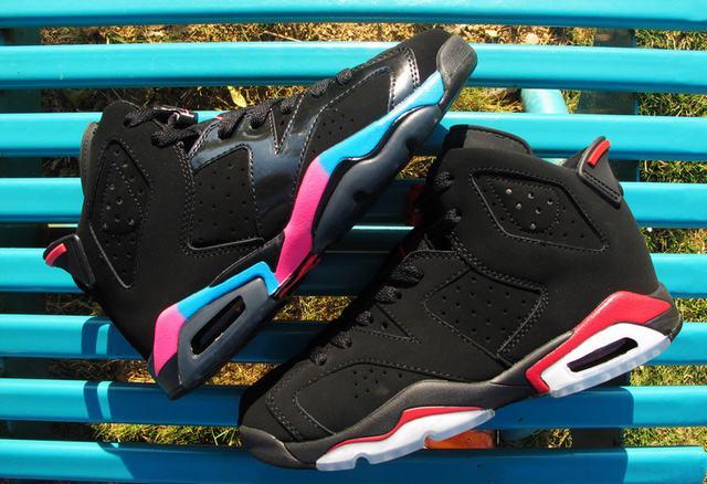 Authentic Air Jordan 6 Retro GS Pink Flash