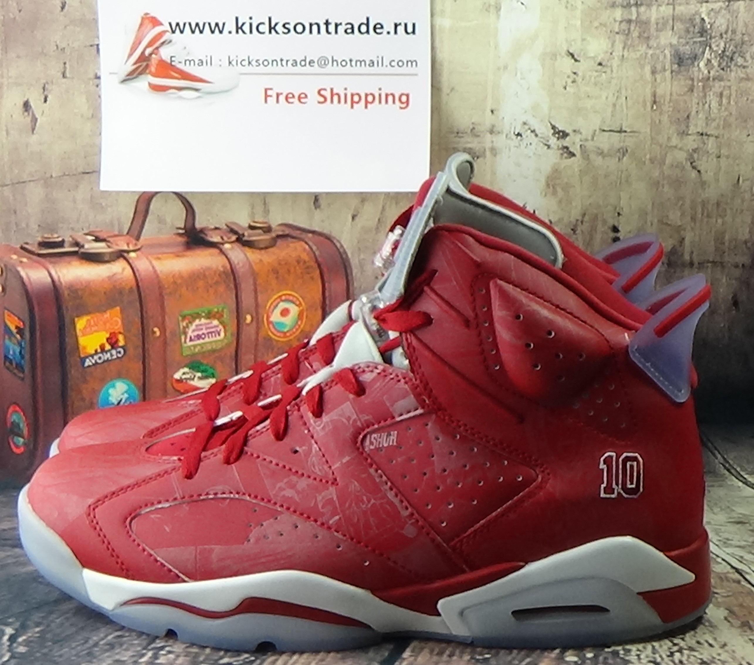 Authentic Air Jordan 6 Slam Dunk