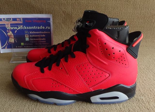 Authentic Air Jordan 6 Toro Infrared