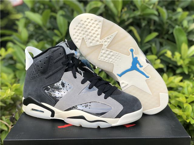 "Authentic Air Jordan 6 WMNS ""Smoke Grey"""