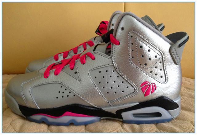 "Authentic Air Jordan 6""Valentines Day"" GS"