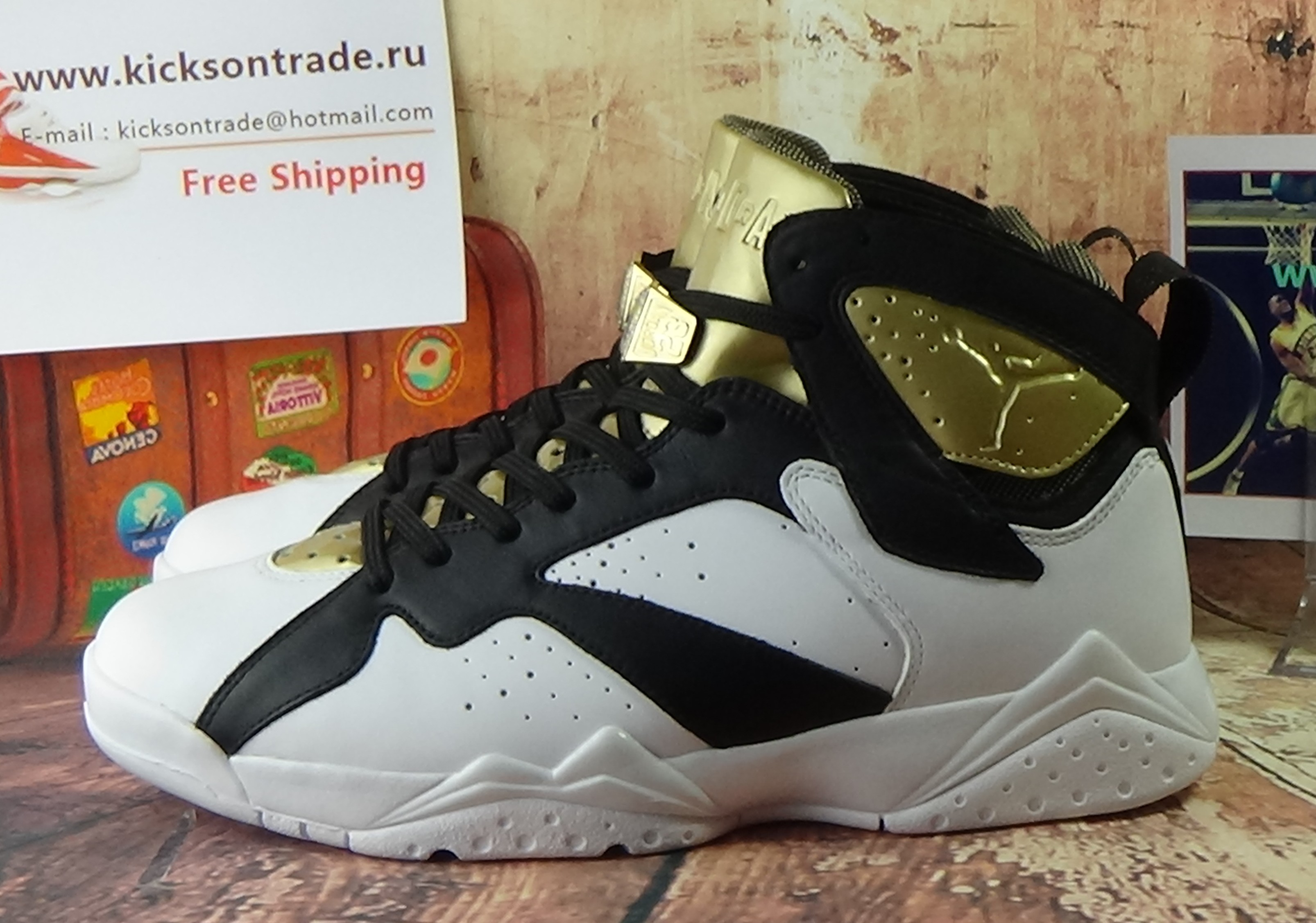 "Authentic Air Jordan 7 ""Champagne"""