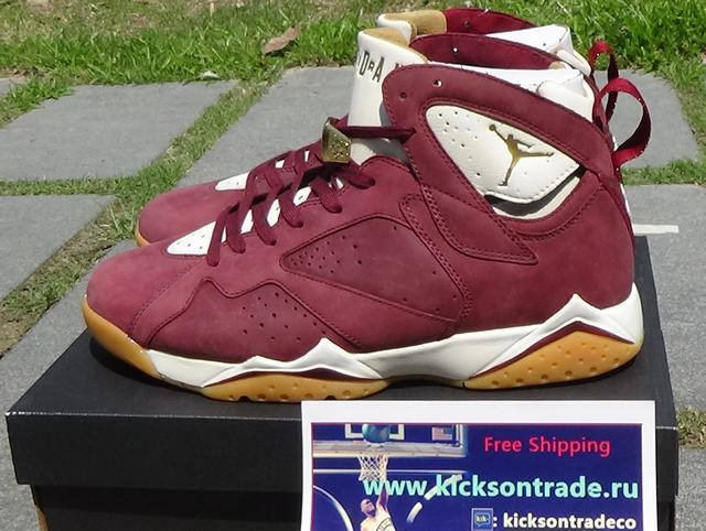 "Authentic Air Jordan 7 ""Cigar""(In Stock Hot)"