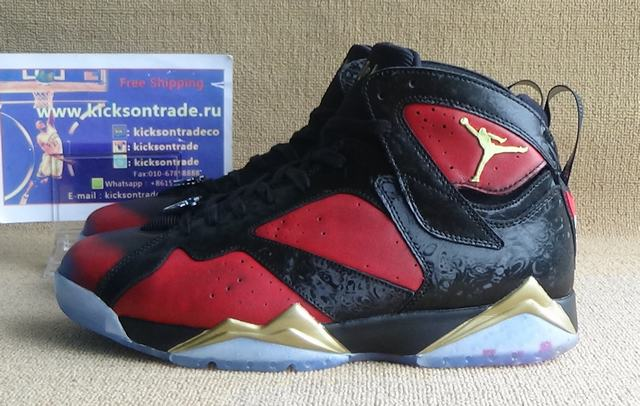 "Authentic Air Jordan 7 ""Doernbecher"""