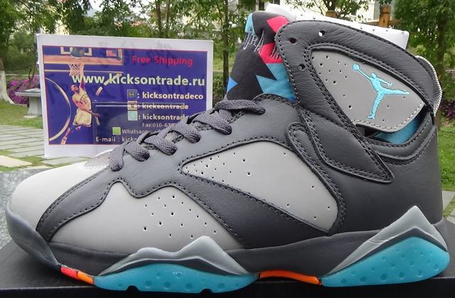 Authentic Air Jordan 7 Bobcats