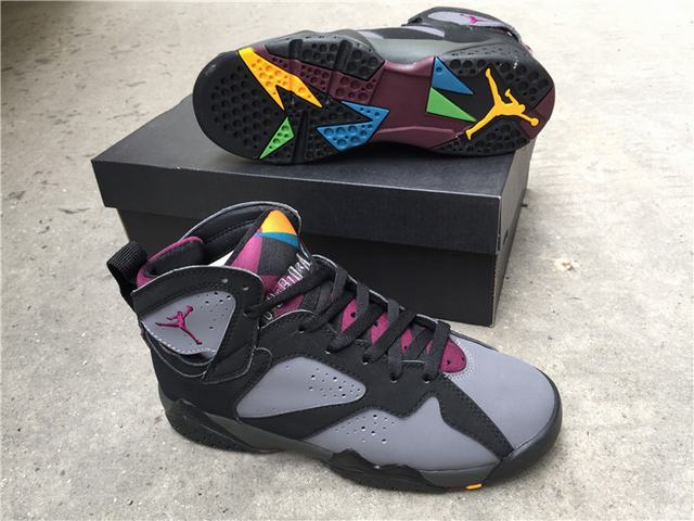 Authentic Air Jordan 7 Bordeaux 2015 GS