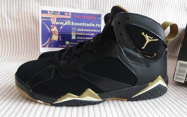 Authentic Air Jordan 7 GS Golden Moments