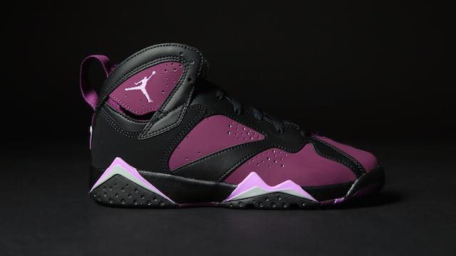 Authentic Air Jordan 7 GS Mulberry