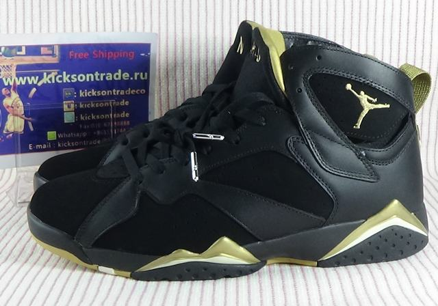 Authentic Air Jordan 7 Gold Medal