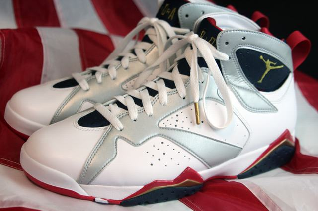 Authentic Air Jordan 7 Olympic