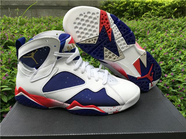 "Authentic Air Jordan 7 ""Olympic"" 2016"