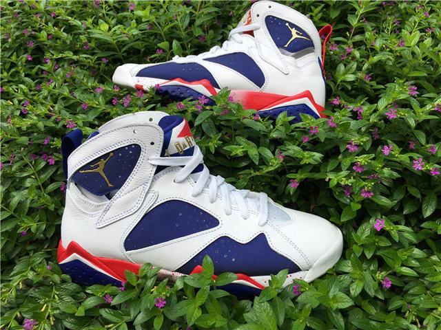 "Authentic Air Jordan 7 ""Olympic"" 2016"