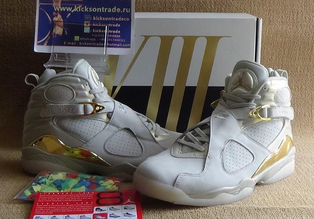 "Authentic Air Jordan 8 ""Champagne"""