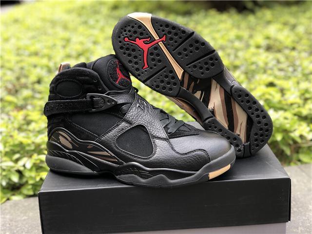Authentic Air Jordan 8 OVO Black