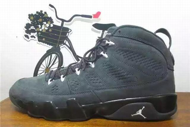"Authentic Air Jordan 9 ""Anthracite"""