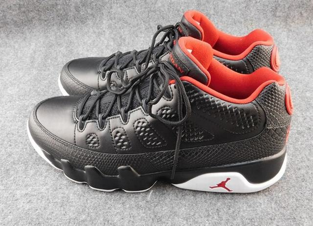 Authentic Air Jordan 9 Low Bred