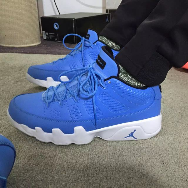 Authentic Air Jordan 9 Low Pantone