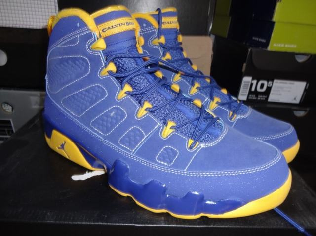 Authentic Air Jordan 9 Retro Calvin Bailey