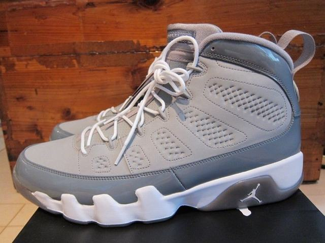 Authentic Air Jordan 9 Retro Cool Grey