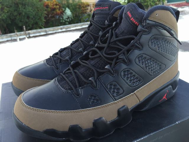 Authentic Air Jordan 9 Retro Olive