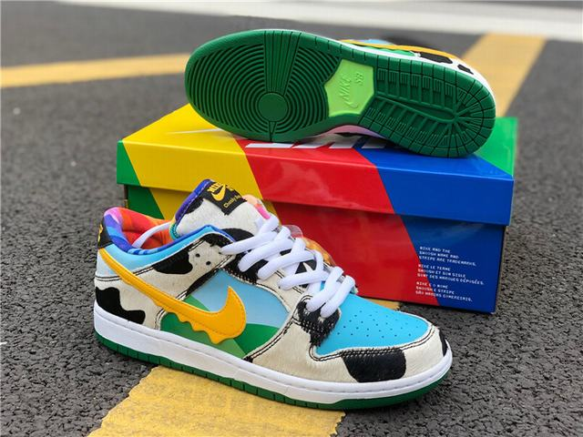 Authentic Ben & Jerry's x Nike SB Dunk Low Pro QS