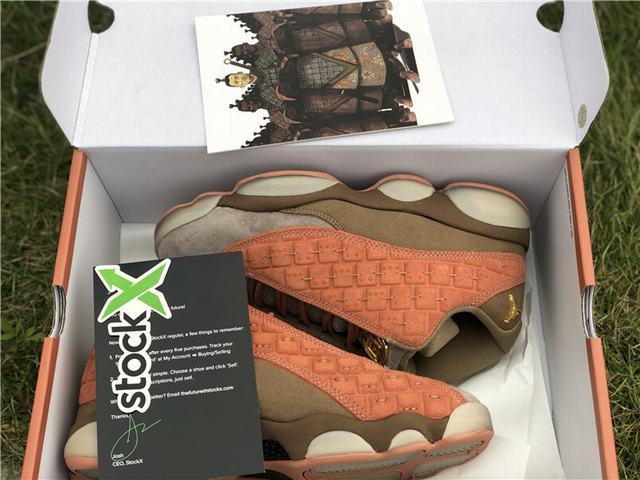 Authentic CLOT x Air Jordan 13 Low