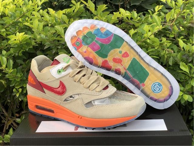 "Authentic CLOT x Nike Air Max 1 ""Kiss of Death"""