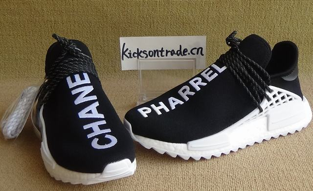 Authentic Chanel x Pharrell x Adidas Originals Hu NMD